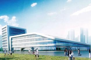 航空港区综合枢纽长途客运站开建