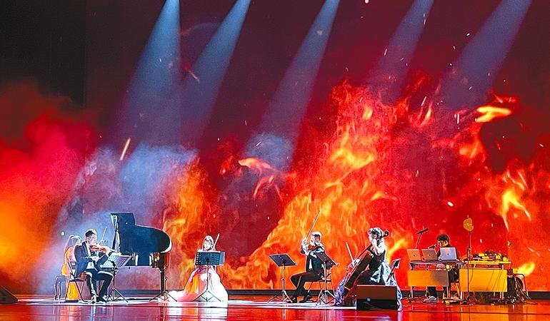 《最美的夜》音乐会在郑州大剧院上演