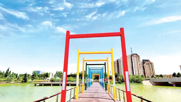 镜头下的郑州高新区真美