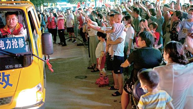郑州整体转入恢复重建新阶段